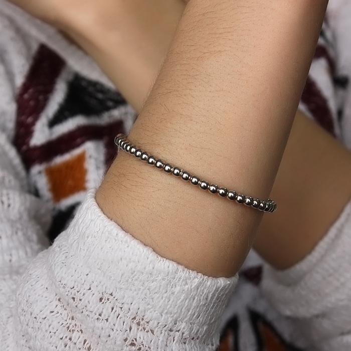 Серебряный браслет Валентайн в стиле Тиффани 000035857