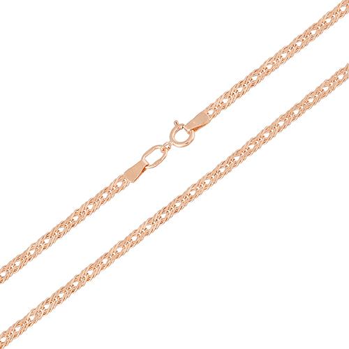 Золотая цепь Ливис в плетении ромб, 2,5мм 000064526