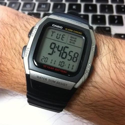 Часы наручные Casio W-96H-1AVES 000087450