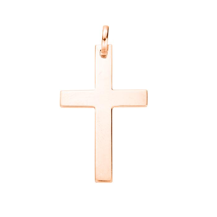 Крестик из красного золота 000103822 000103822
