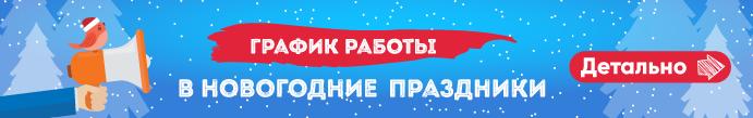 График работы магазинов Zlato.ua в Новый год и Рождество