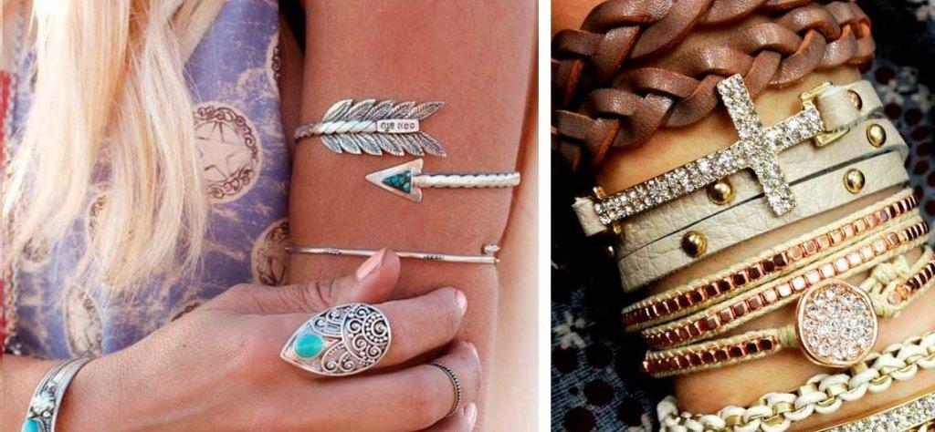 Красивые браслеты на руку