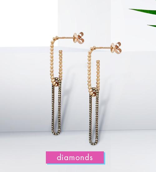 Скажи ДА украшениям с бриллиантами!