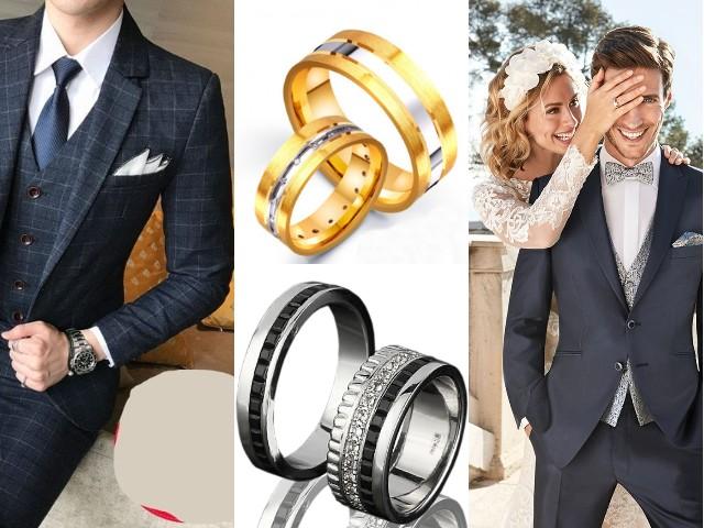 Мужские обручальные кольца дорожки