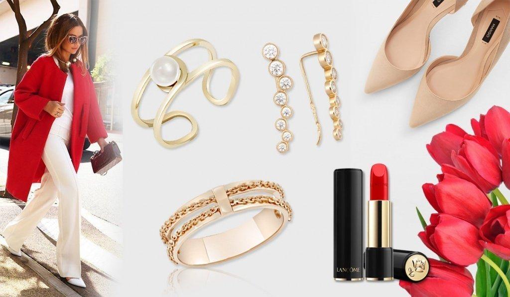 Золотые украшения для создания страстного образа