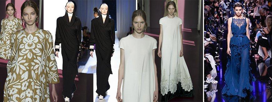 Показ мировых модных брендов
