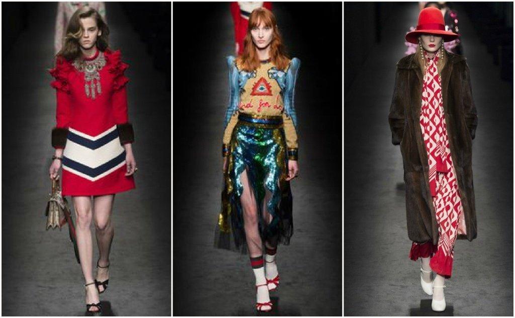 Образы на модных показах 2016