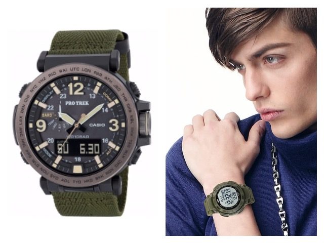 Электронные цифровые мужские часы