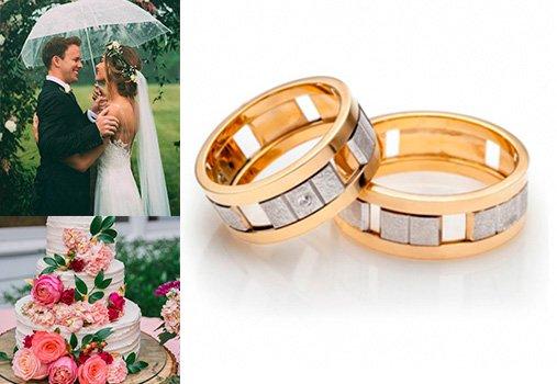 Парные кольца в стиле