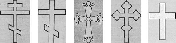 Символика православных крестов