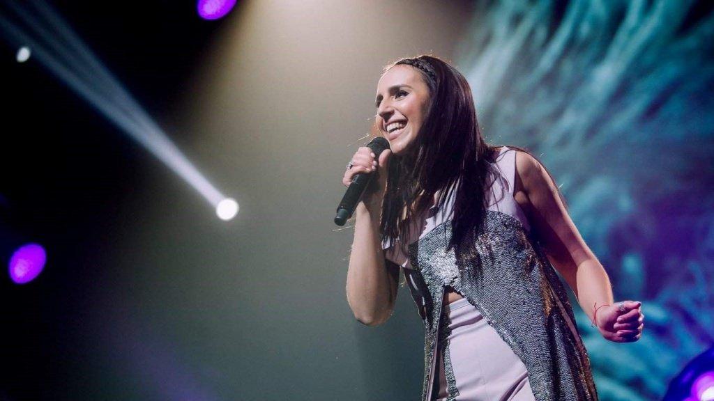 Выступление Джамалы на Евровидении 2017
