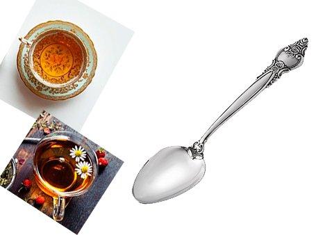 Серебряная чайная ложечка