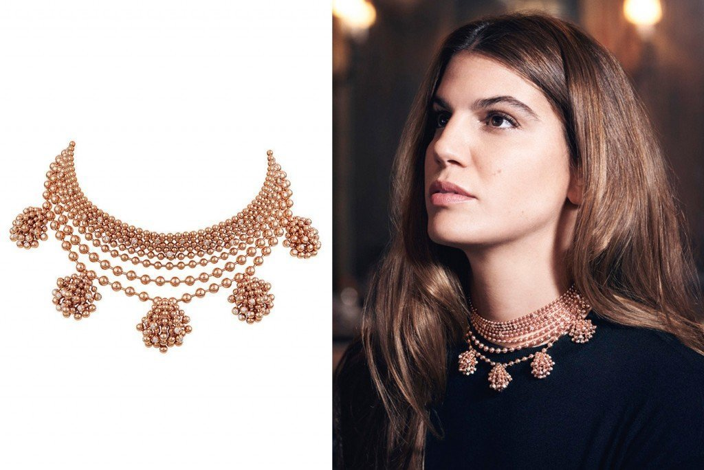 Ожерелье из бусин от Cartier