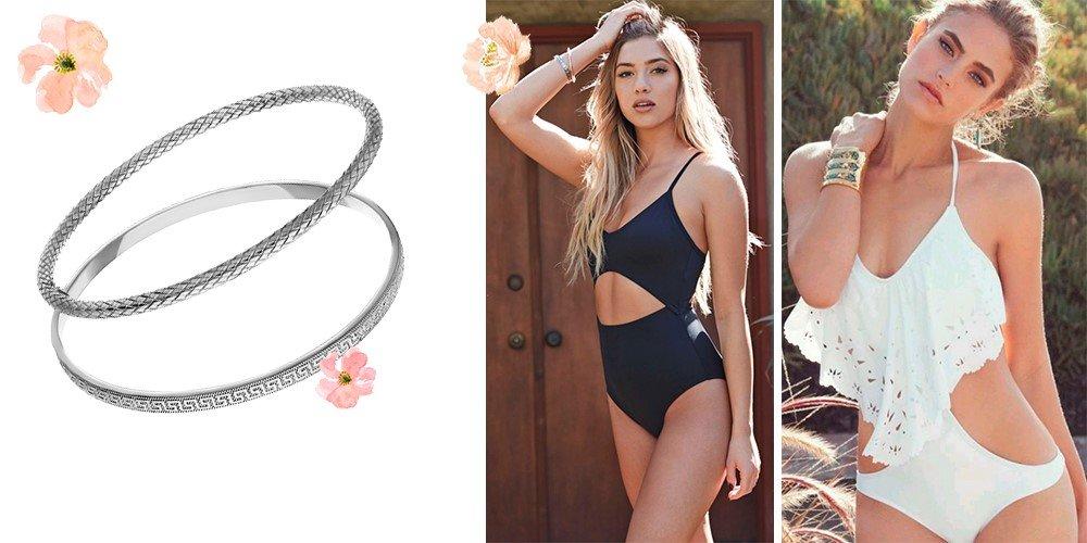 Модные браслеты для пляжа