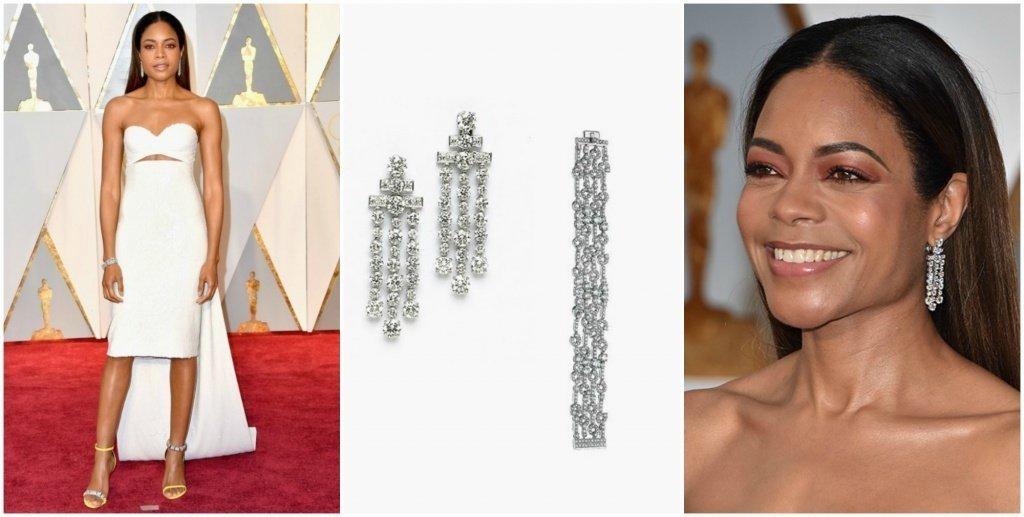 Наоми Харрис на церемонии Оскар 2017 года