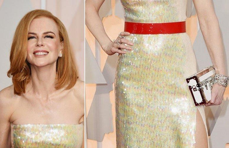 Nicole Kidman (Николь Кидман) на церемонии Оскар 2015