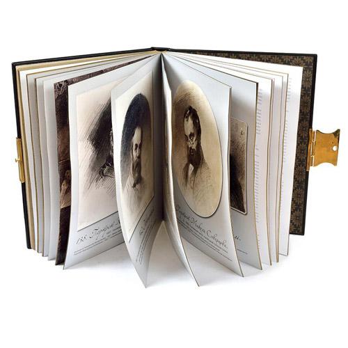 Книга в кожаном переплете от Андрея Ковалыка
