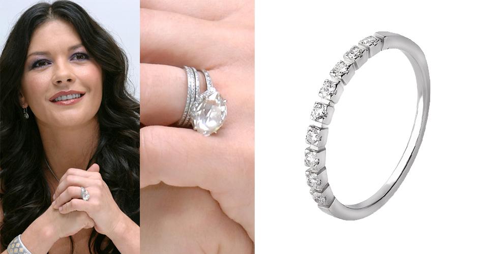 Помолвочное кольцо Кетрин Зета Джонс