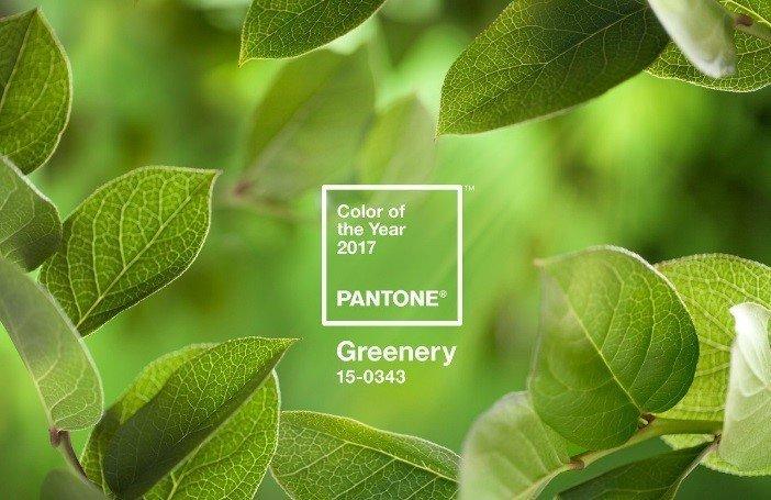 Greenery - главный цвет 2017