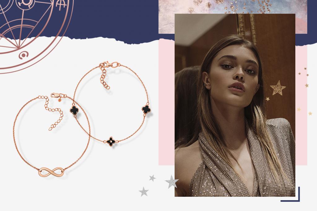 Золотые браслеты женские