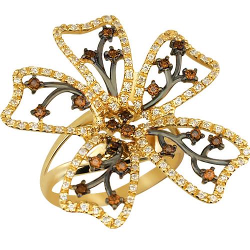 Золотой цветок - подарок на 8 марта