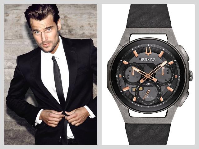 Часы в титановом корпусе для мужчины