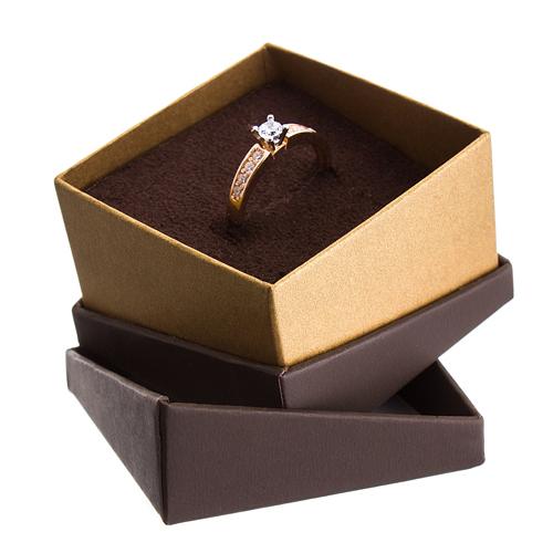 Открытая коробочка под кольцо