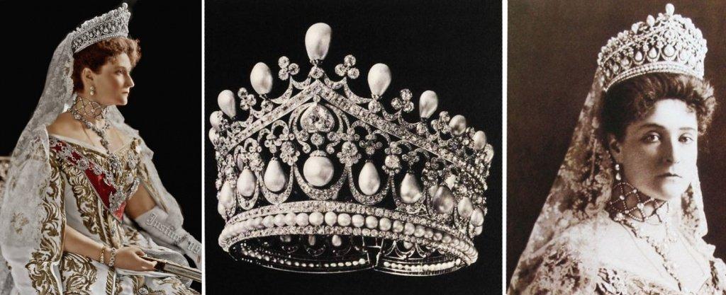 Большая диадема российской императрицы Александры Федоровны