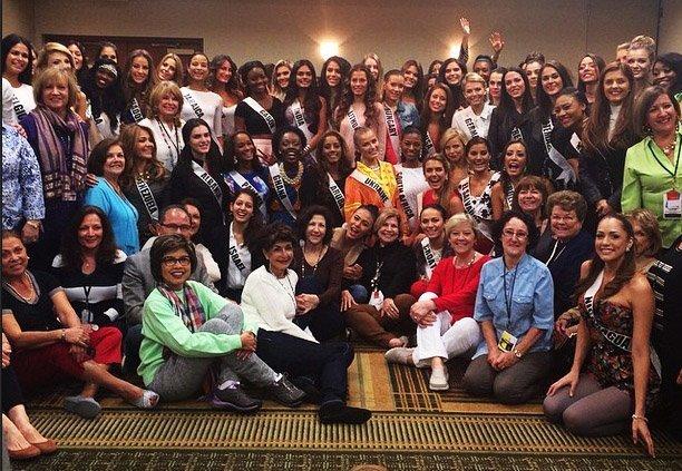 Участники Мисс Вселенная 2014