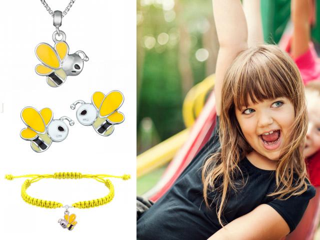 Набор детских украшений Пчелка