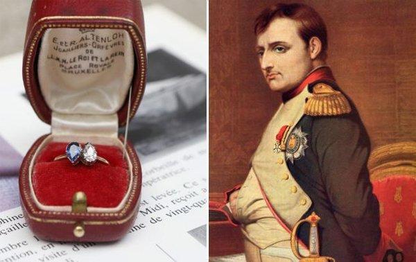 Кольцо подаренное Жозефине Бонапартом