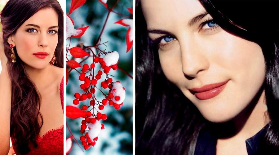 Цветотип внешности зима Лив Тайлер