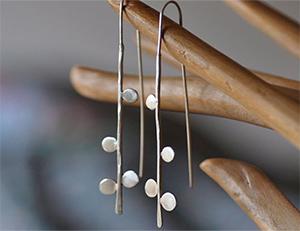 Серебренные серьги по индивидуальному заказу