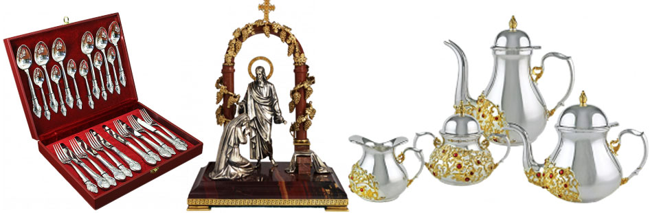 Серебряные украшения ювелирного дома Agat