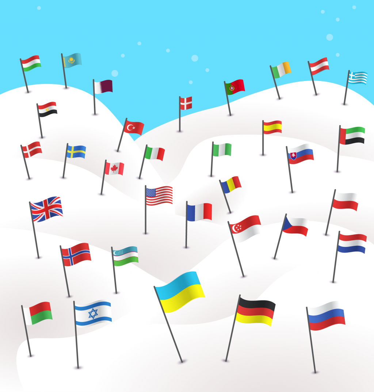 Расширяем ювелирные границы: счастливые клиенты Zlato.ua по всему миру!
