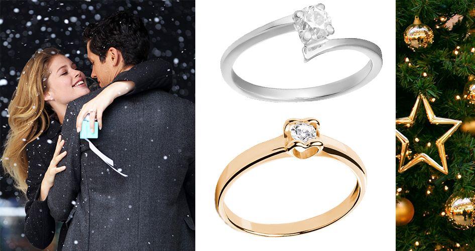 Классические кольца для помолвки