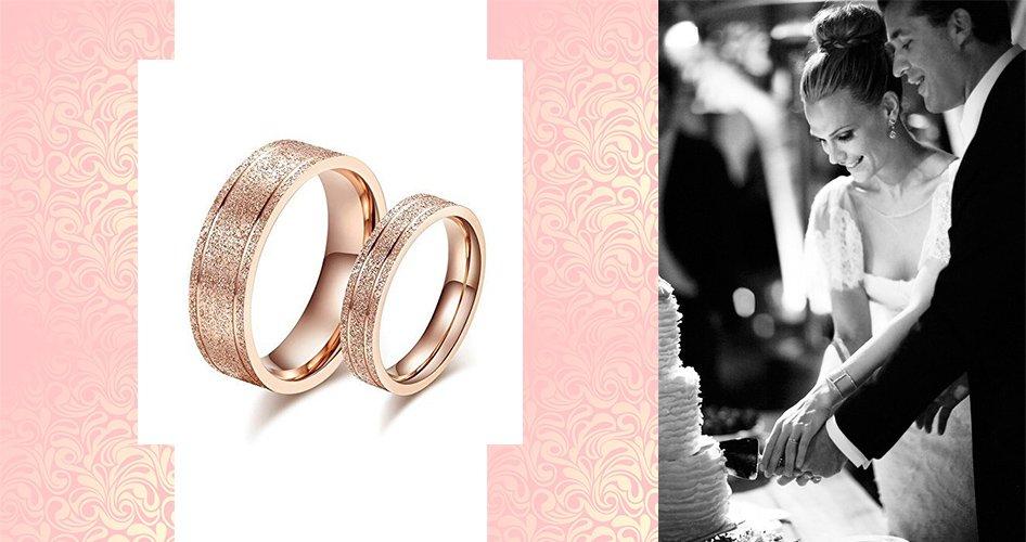 Обручальные кольца с напылением