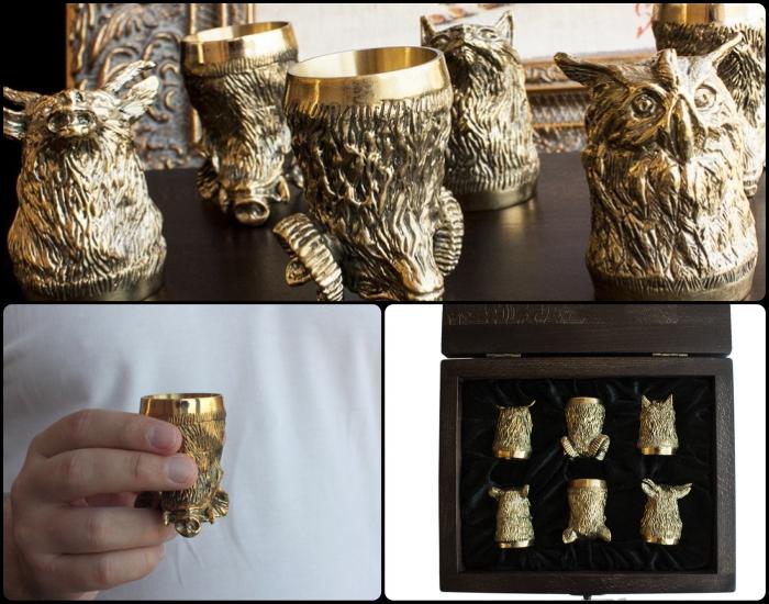 Изделия из бронзы природа/животные