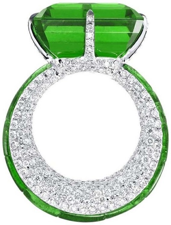 Необычное кольцо Glenni Spiro