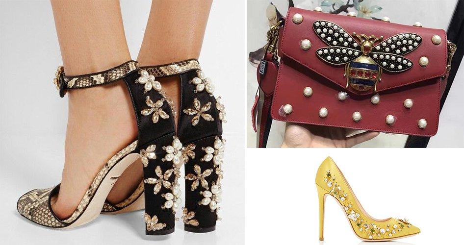 Дизайнерская обувь и украшения