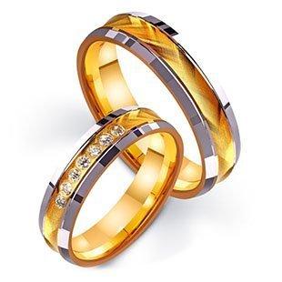 Золотые обручальные кольца от ТМ Триумф