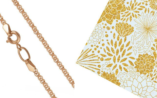 Нонна плетение золото