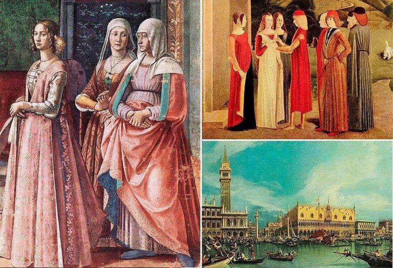 Италия 15-17 век