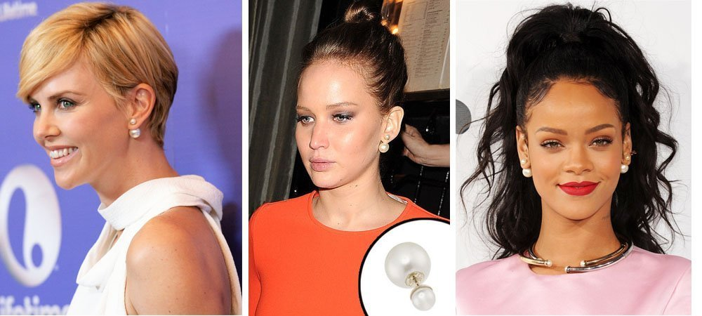 Звезды, предпочитающие серьги Dior