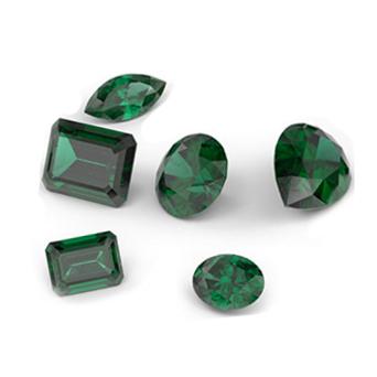 Зеленые камни в украшениях