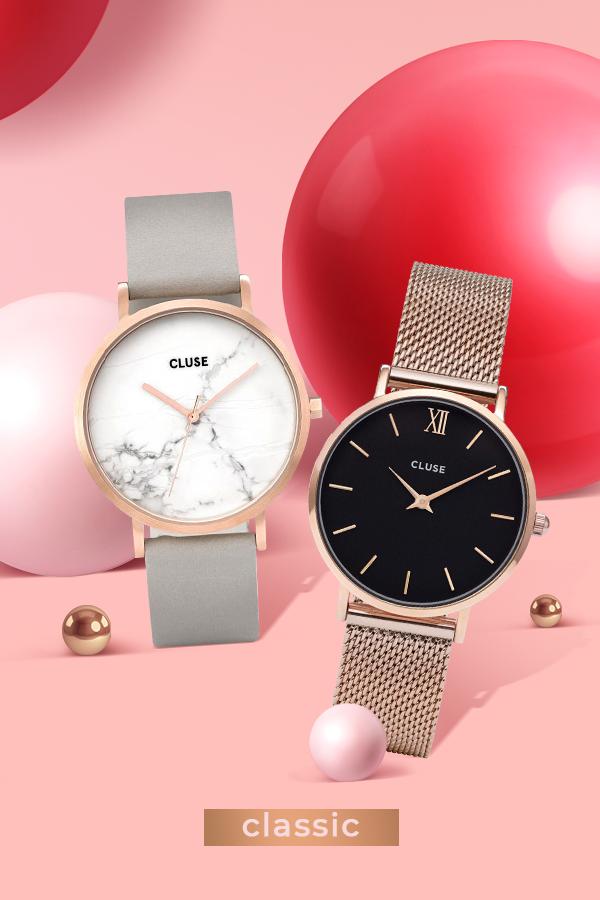 Классические часы - лучший подарок для девушки на 14 февраля в ювелирном магазине Злато юа