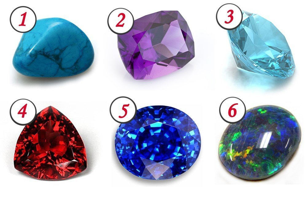 Камни которые расскажут все о характере их владелицы
