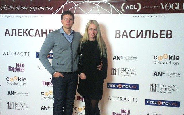 Zlato.ua на моноспектакле Александра Васильева