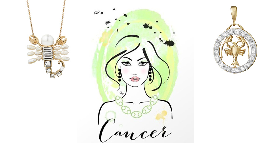 Подвески Рак