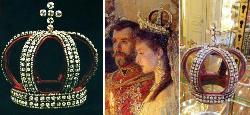 Императорская венчальная корона Романовых